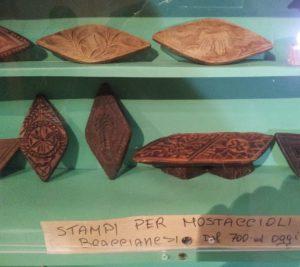 I Mostaccioli e gli antichi stampi