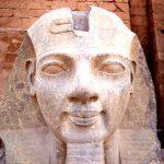 Egitto, Ramses II spunta dalle acque
