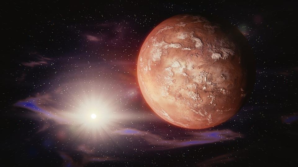Tutto quello che bisogna sapere su Marte, il pianeta che governa gli ormoni maschili