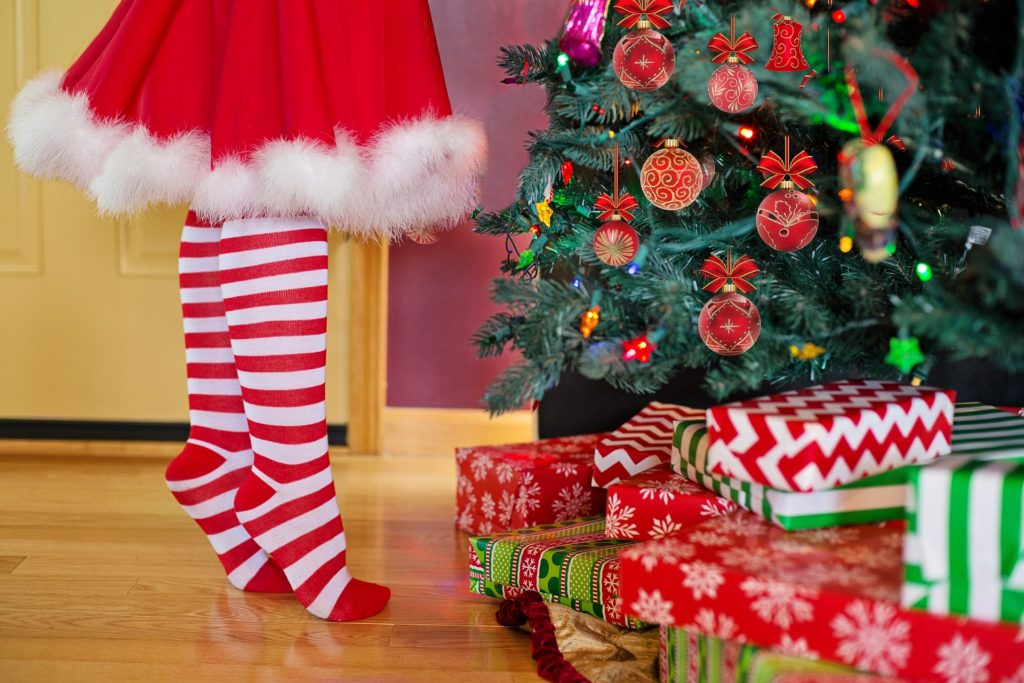 E se Babbo Natale avesse il rossetto invece della barba?